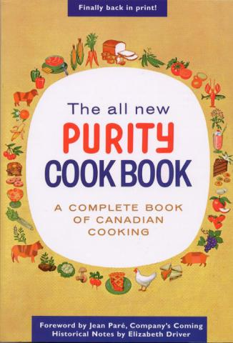 Purity Cookbook - All New Canadian Cooking - SOLD OUT!