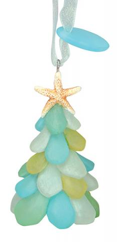 Sea Glass Tree Ornament - SOLD OUT!