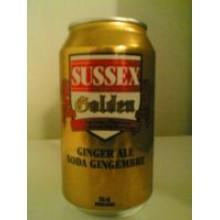Sussex Golden Ginger Ale - Case of 12 cans