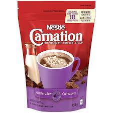 Carnation Hot Chocolate - Marshmallow - 450g - CanadianCatalog