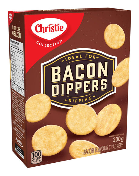 Christie Bacon Dippers Crackers - 200g - CanadianCatalog