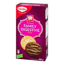 Christie Family Digestive Cookies - 300g - CanadianCatalog