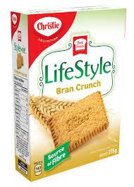 Christie Lifestyle Bran Crunch Cookies - 275g - CanadianCatalog