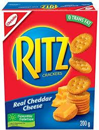 Christie Ritz Cheese Crackers - 200g - CanadianCatalog