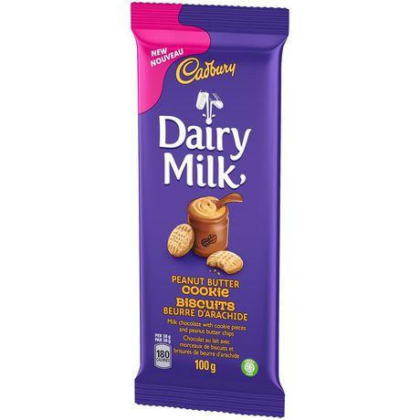 Dairymilk Peanut Butter Cookie Bar - 100g - CanadianCatalog