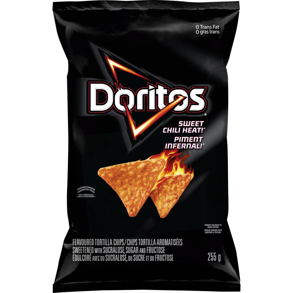 Doritos Sweet Chili Heat Chips - 255g - CanadianCatalog