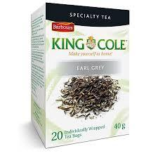King Cole Tea - Flavoured Earl Grey - 6 x 20 bags