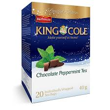 King Cole Chocolate Peppermint Tea - 20 Bags - ONLY 2 LEFT!