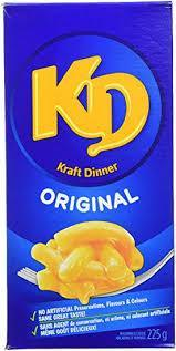 Canadian Kraft Dinner - 225g - CanadianCatalog