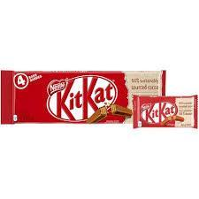 Nestle KitKat Chocolate Bars - 4 Bars - 180g - CanadianCatalog