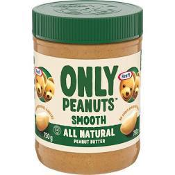 Kraft Peanut Butter - Only Peanuts All Natural - 750g - CanadianCatalog