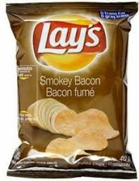 Lay's Smoky Bacon Chips - 180g - CanadianCatalog