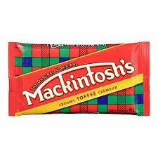 Mackintosh Creamy Toffee Bar - 45g - CanadianCatalog