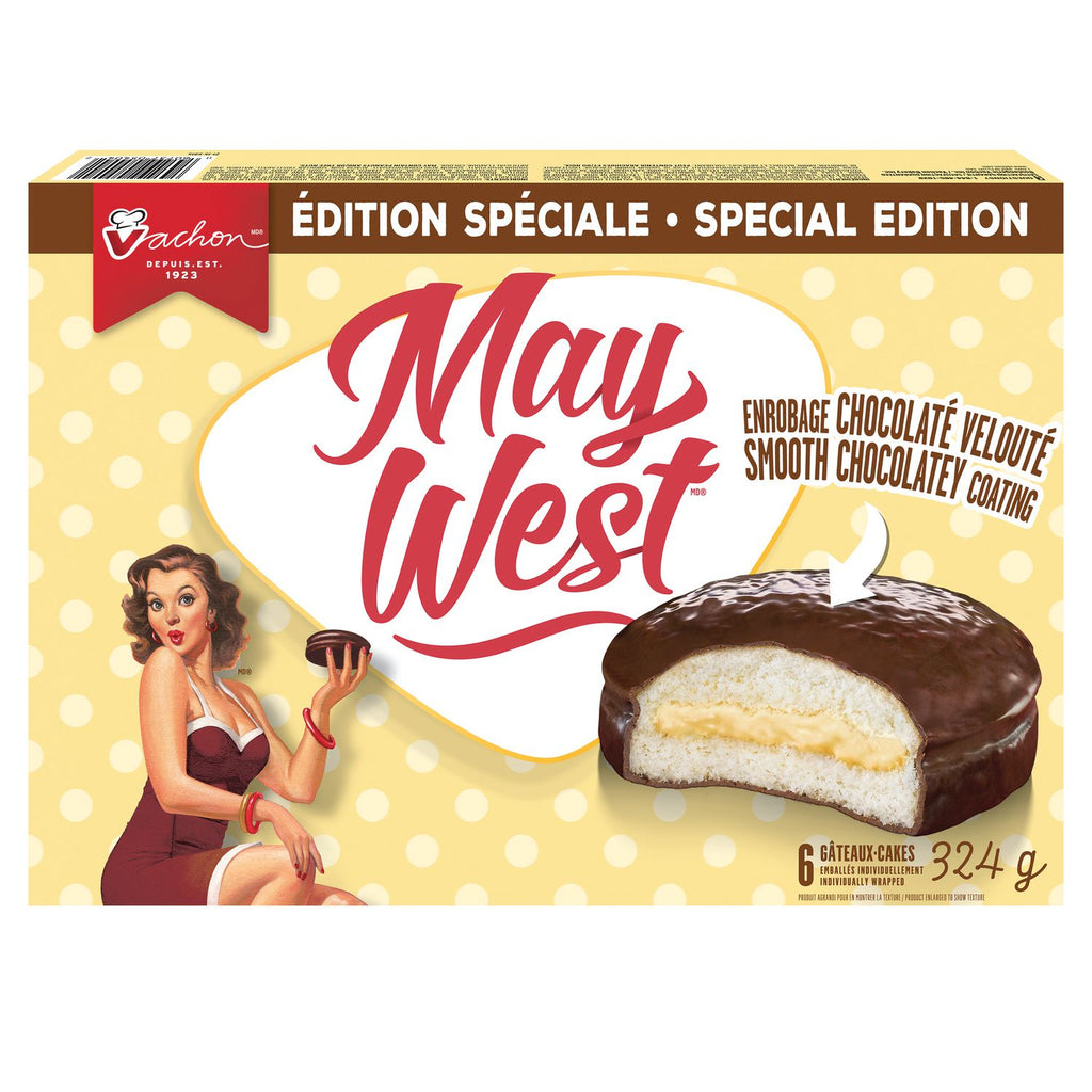 Vachon May West Cakes - 6 - 324g