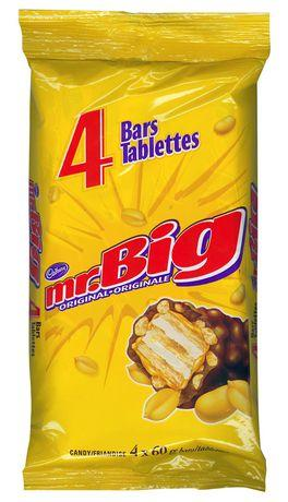 Cadbury Mr. Big Bars - 4 bars - 240g - CanadianCatalog
