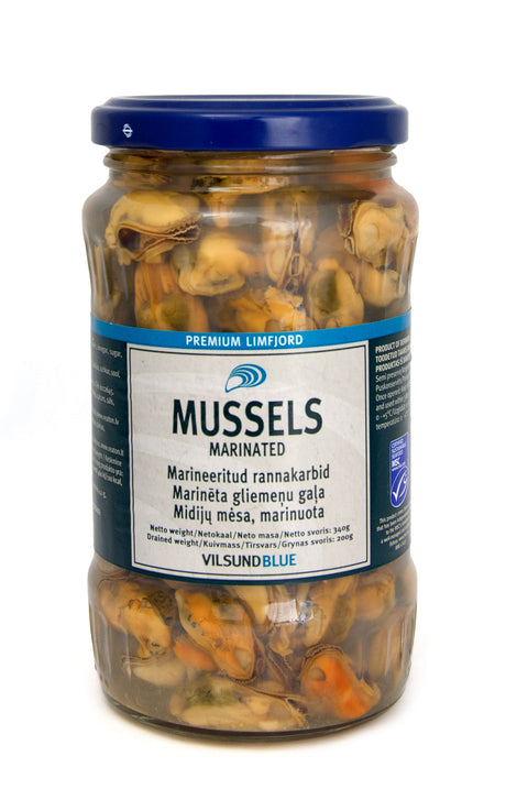 Mussels in Brine (Marinated) - 350 g Jars - SOLD OUT!