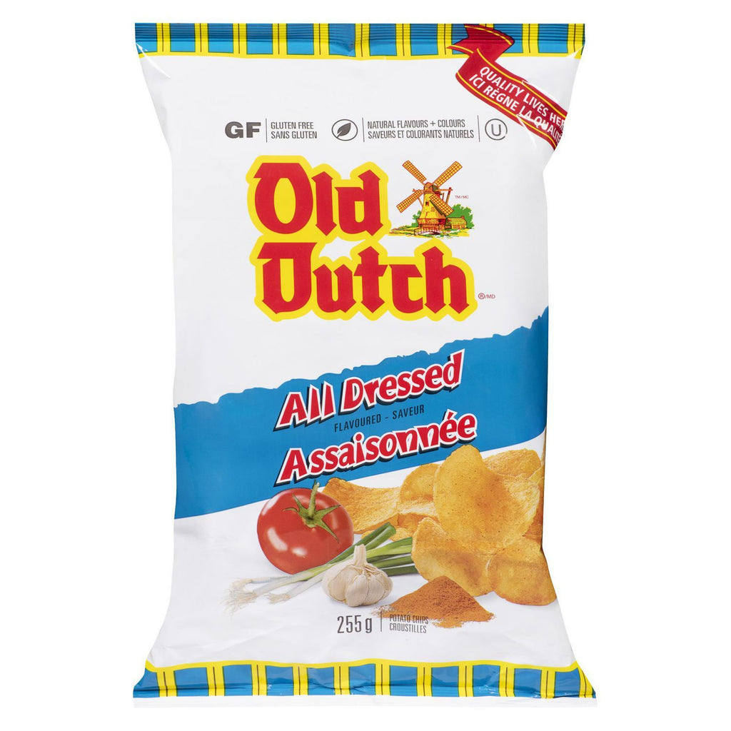 Old Dutch All Dressed Chips - 255g - CanadianCatalog