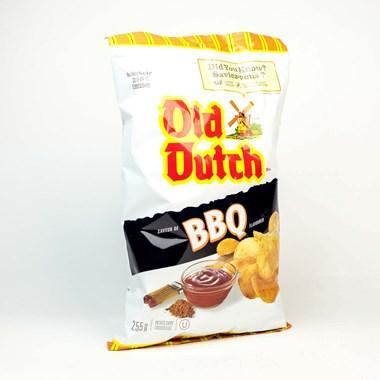 Old Dutch BBQ Chips - 255g - CanadianCatalog