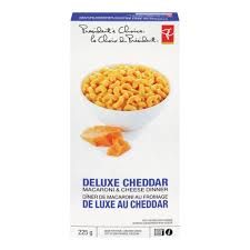 President's Choice Deluxe Cheddar - Macaroni & Cheese Dinner - 225g - CanadianCatalog