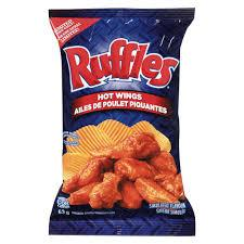 Ruffles Hot Wings Chips - 220g - CanadianCatalog