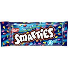 Nestle Smarties Chocolate - 4 boxes - 180g - CanadianCatalog