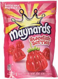Maynards Sour Patch Kids Swedish Berries Candy - 355g - CanadianCatalog