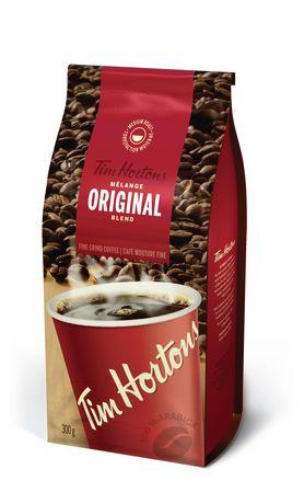 Tim Hortons Coffee - Original - 300g - CanadianCatalog