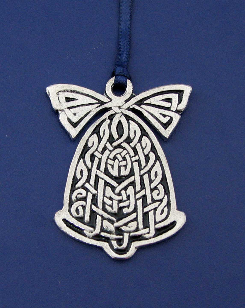 Pewter Ornament - Celtic Bell