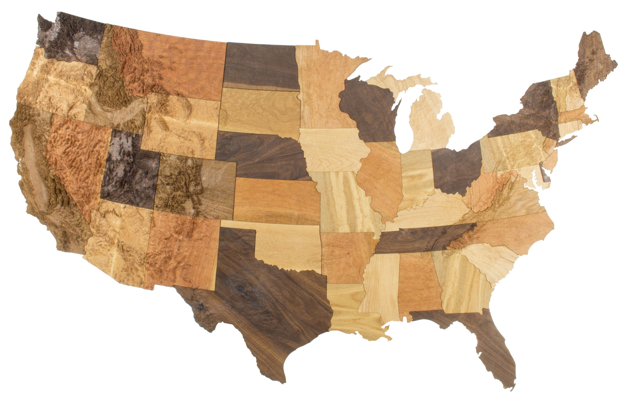 The United States of Wood – Elevated Woodworking