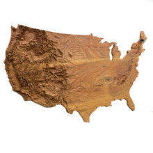 The Continental United States - Large wall hanging