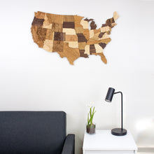 3' wall hanging map