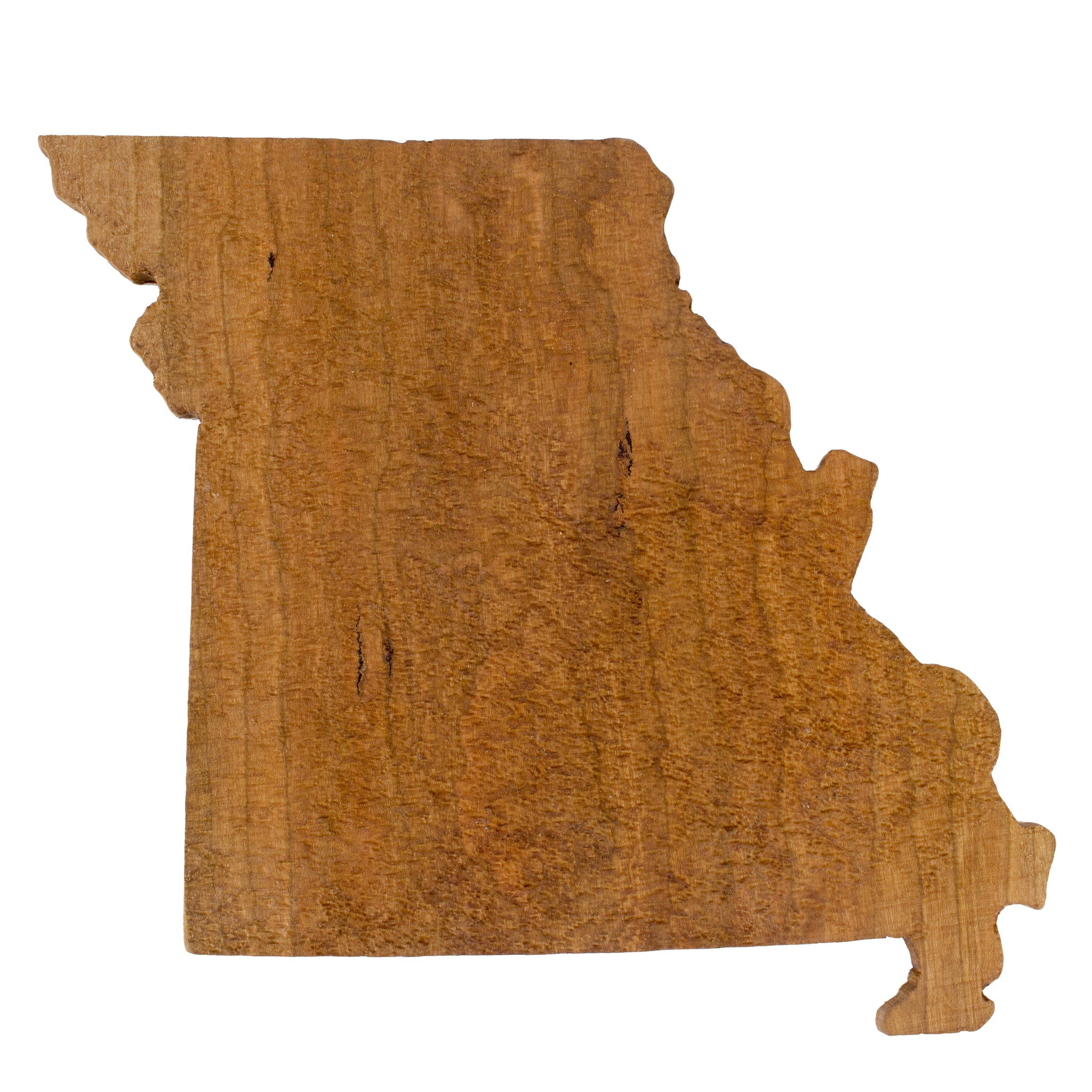 Wooden Topographic Map Of Missouri Elevated Woodworking