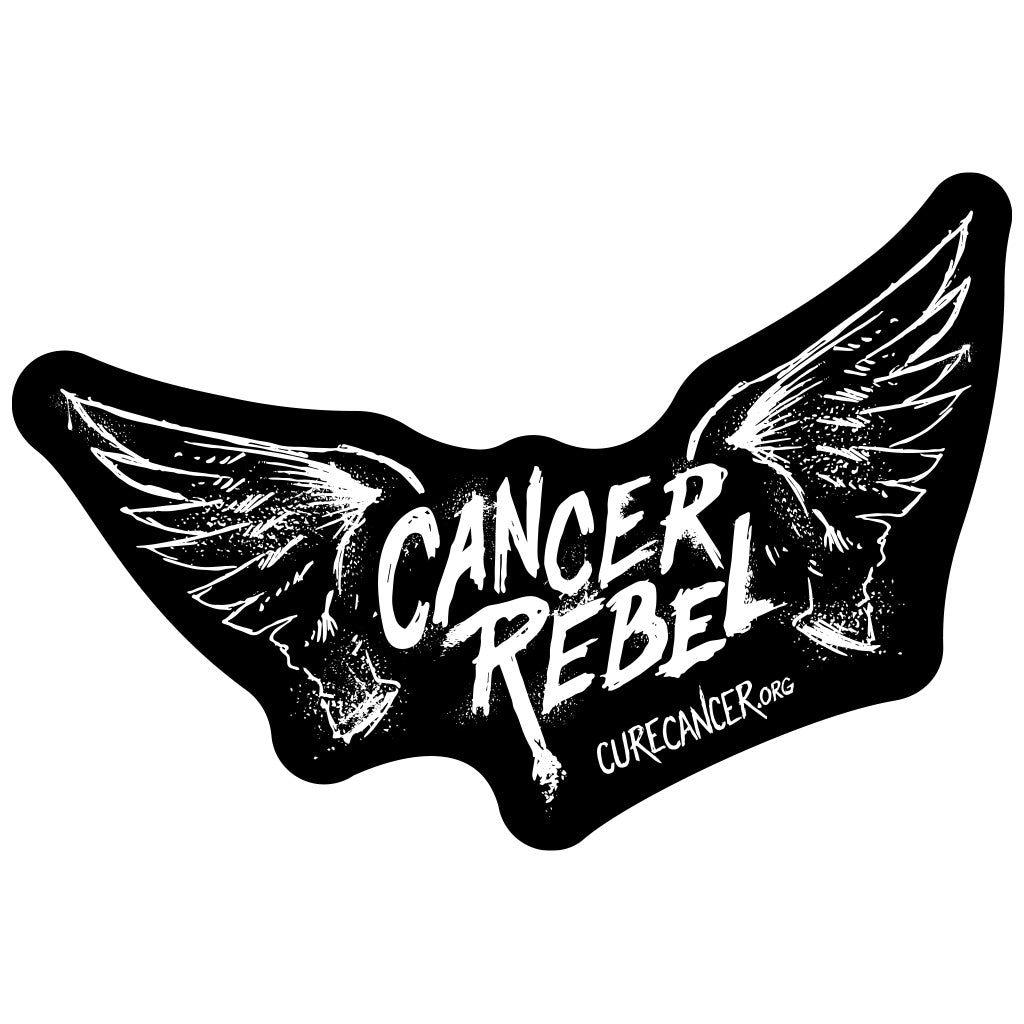 Cancer Rebel Window Decal