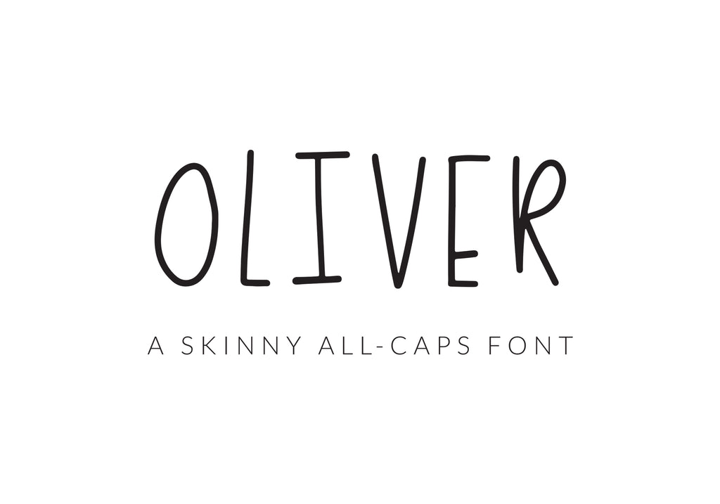 Our First Font Can Be Yours!