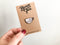 Tea Please Soft Enamel Pin - Brown Paper Fox