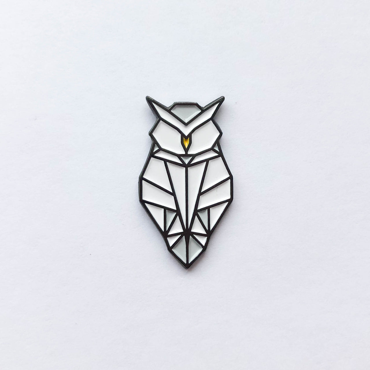 Origami Owl Soft Enamel Pin - Brown Paper Fox