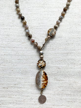 Stormy Agate Adjustable Necklace