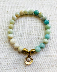 Sunset Shell Bracelet