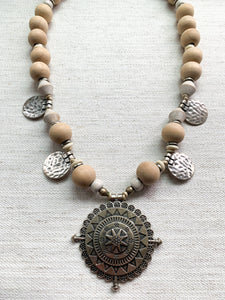 Beach Wood Necklace