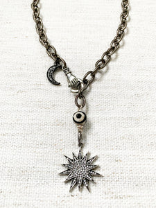 Starburst Pave Necklace