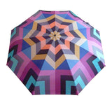Compact umbrella by David David, a fashion accessories brand and print studio based in London England, specialising in bold geometric print