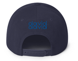 David David Snap back cap wool blend embroidered Blocker design