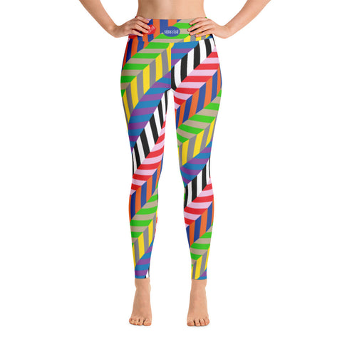 Yoga leggings, Bright Steps