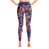 Yoga leggings, Blocker Metallic