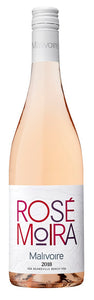 "2018 Rosé Moira - ""... a terrific rosé.  Full stop."" J. Szabo, WineAlign.com"