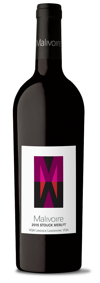 2015 Stouck Merlot - from the Stouck family farm, Lincoln Lakeshore, Niagara Ontario