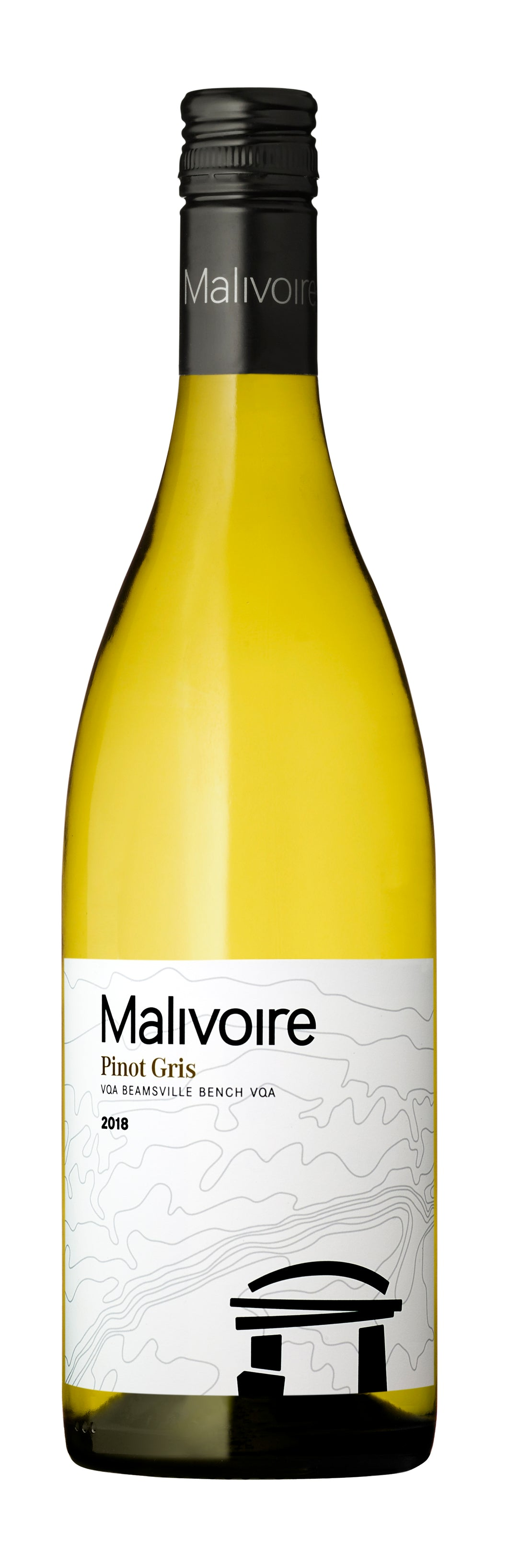 2018 Pinot Gris, Malivoire Wine, VQA Beamsville Bench