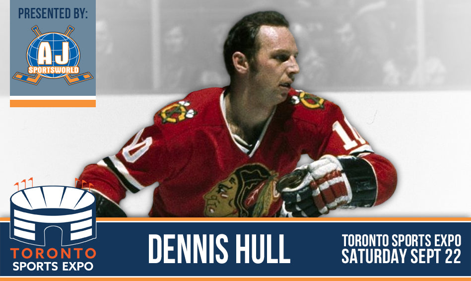 Dennis Hull - Toronto Sports Expo - Public Signing