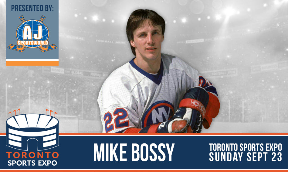 Mike Bossy - Toronto Sports Expo - Public Signing