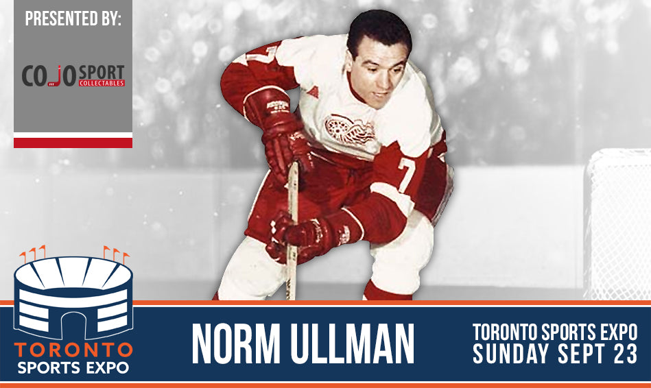 Norm Ullman - Toronto Sports Expo - Public Signing